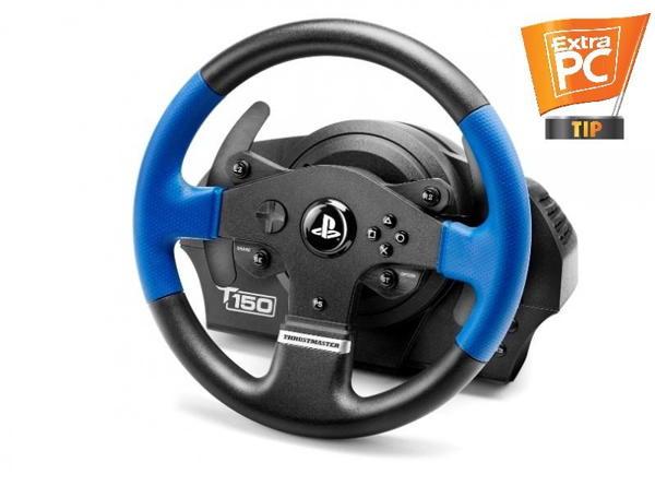 Thrustmaster Sada volantu a pedálů T150 pro PS4, PS4 PRO, PS3 a PC