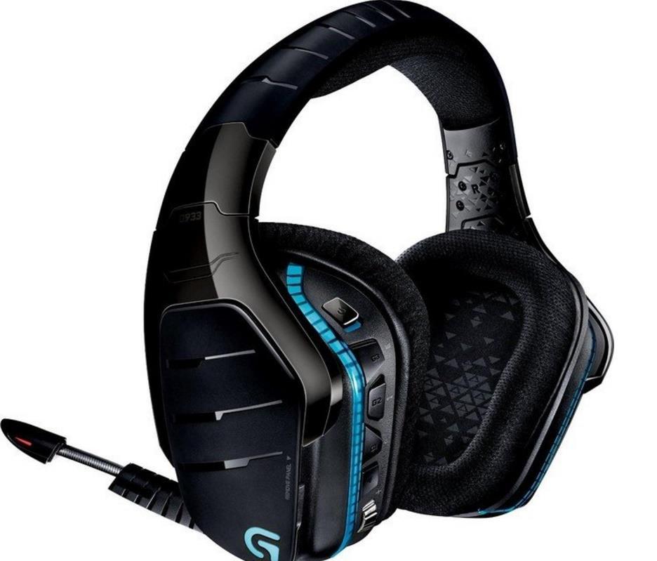 Logitech G933 Artemis Spectrum herní sluchátka bezdrátová 7.1 Surround