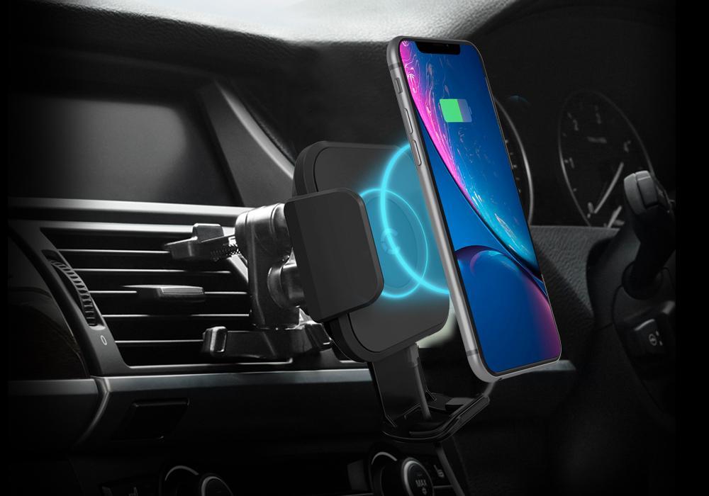 CYGNETT bezdrátová nabíječka držák do auta - ventilační otvor