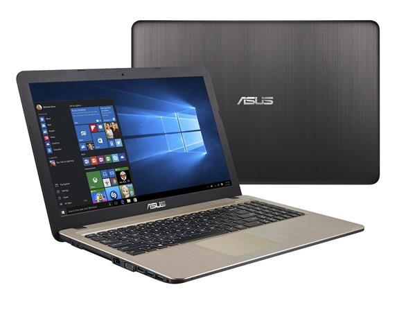 """ASUS X540BA-DM271T A6-9225/4GB/128GB SSD/"""" FHD/Win10/černý"""