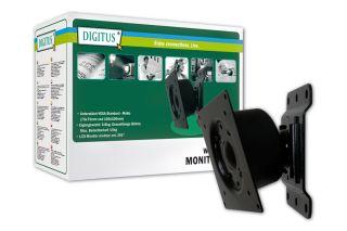 Držák na LCD TV/monitory Digitus montáž na stěnu, svisle/rotace, nosn. max.15kg
