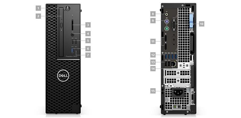 Dell Precision T3430, 8C5K9