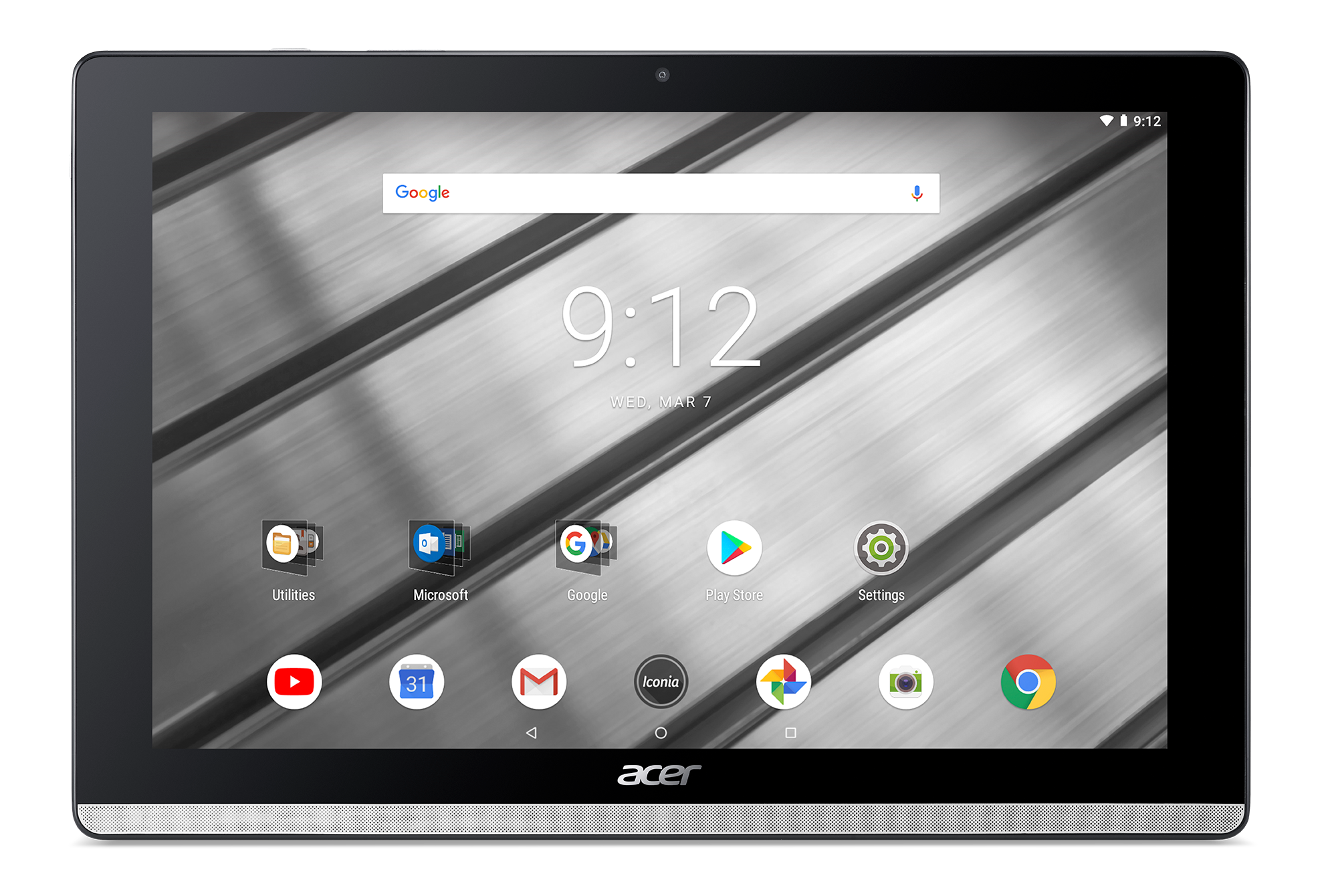 "Acer Iconia One 10 Metal (B3-A50-K7BY MTK MT8167B quad-core Cortex A35/10"" IPS Touch HD/2GB/eMMC 16GB/BT/Android 8.1"
