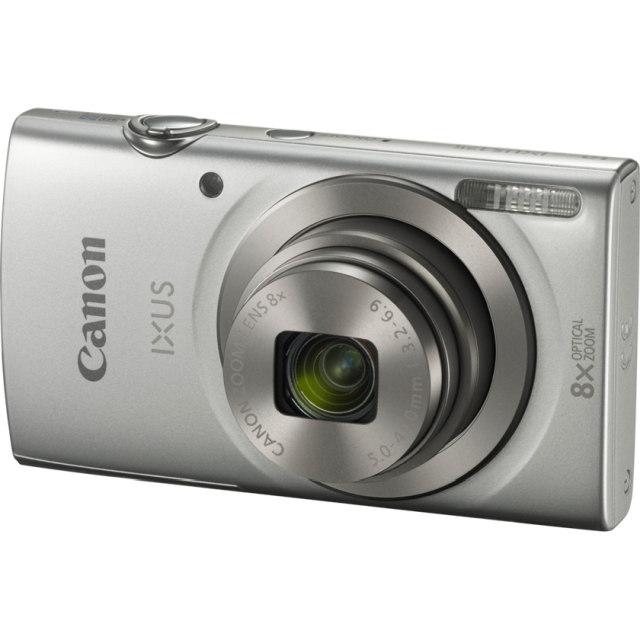 Canon IXUS 190 SILVER Essential KIT (+neopren.pouzdro)