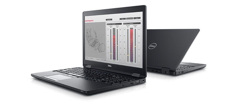 """DELL Precision 3530/i5-8300H/16GB/256GB SSD/15.6"""" FHD/4GB Quadro P600/Win 10 PRO/3Y PS NBD/black"""