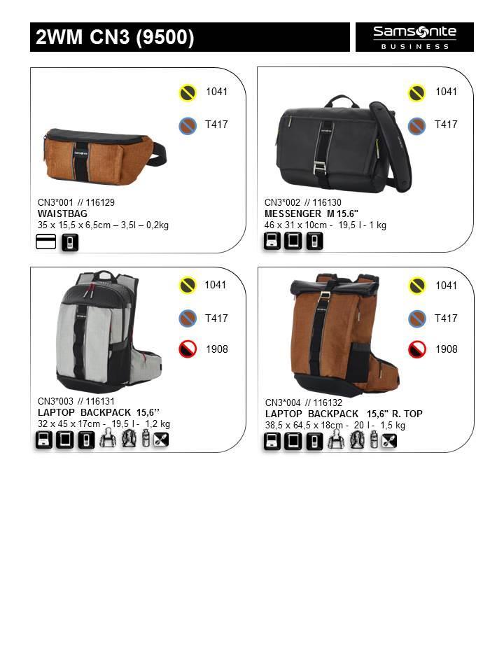 a1e15abfbc Backpack SAMSONITE CN309004 15