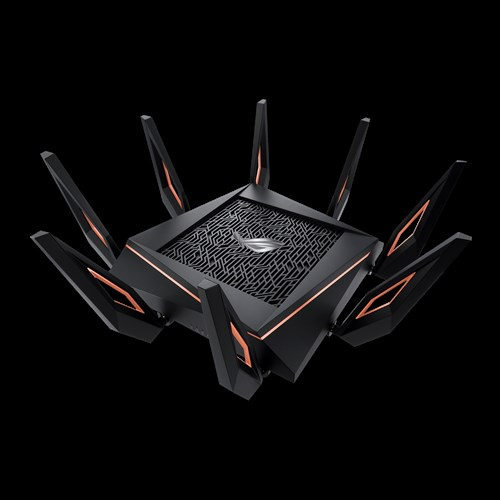 ASUS ROG Rapture 802.11ax Tri-band Gigabit Gaming Router - GT-AX11000