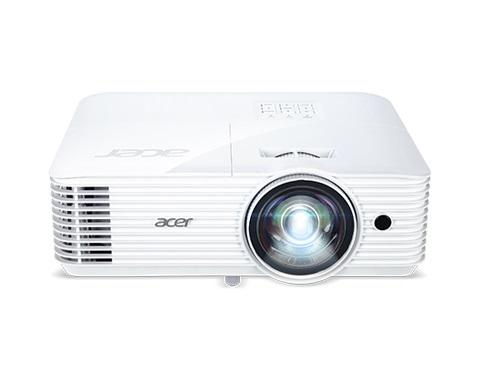 Acer DLP S1386WHn - 3600Lm, WXGA, 20000:1, HDMI, HDMI(MHK), VGA, RS232, RJ-45, USB, repro., bílý
