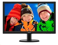 "Philips MT LED 21,5"" 223V5LSB 1920x1080, 250cd/m, 5ms, 10mil:1, D-Sub, DVI-D, rozbalen"