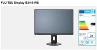 DISPLAY B24-9 WS, EU B Line 61cm(24')wide,Ultra Narrow Border IPS, LED, matt black DP,HDMI,VGA,USB, 5-in-1 stand