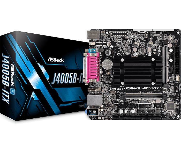 ASRock J4005B-ITX, DDR4 2133/2400, SATA3, D-Sub, HDMI