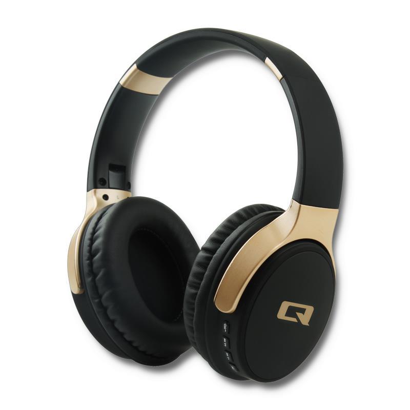 Qoltec BT bezdrátová stereofonní sluchátka + microphone | FM | TF | MP3 | TF