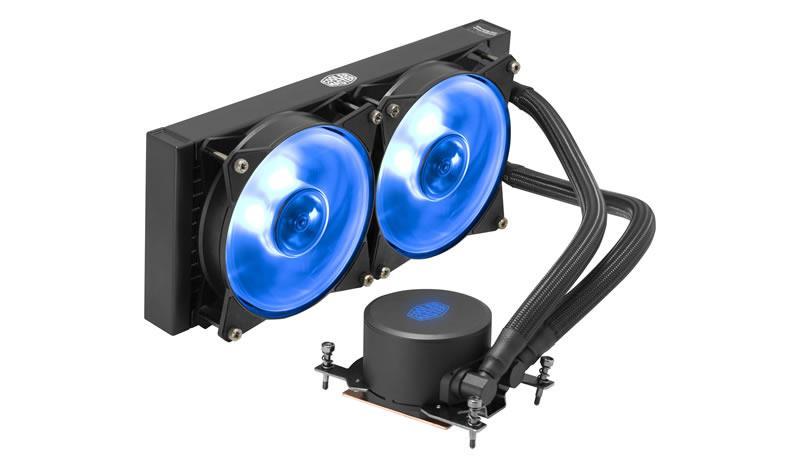 Cooler Master vodní chlazení kit MasterLiquid ML240 RGB TR4 Edittion