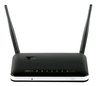 Rozbaleno - D-Link DWR-116 Wireless N300 Backup-Wan Router, USB2.0 port pro 3G/4G modem, 1x RJ45 WAN, 4x RJ45 LAN, bazar