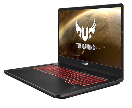 """ASUS FX705GE-EW233T i7-8750H/16GB/512GB SSD/GTX1050Ti/17,3"""" FHD, IPS/Win10/černý"""