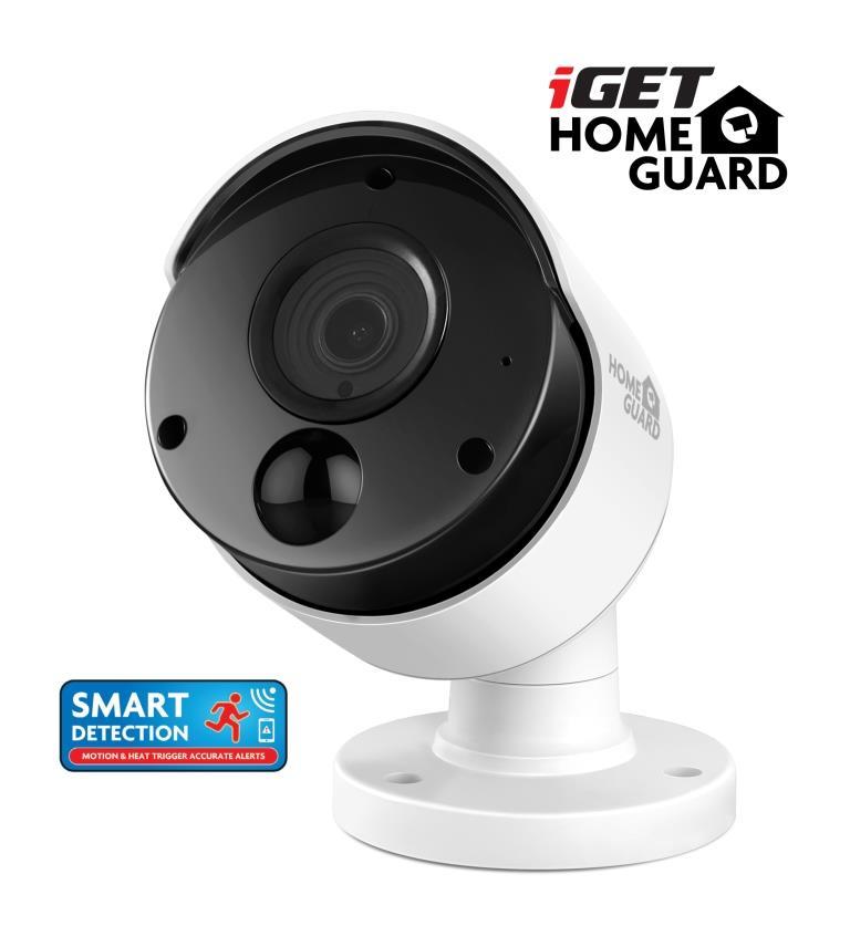 iGET HGPRO838 - CCTV FullHD 1080p kamera, SMART detekce pohybu, IP66, BNC+Jack, noční IR přísvit 30m