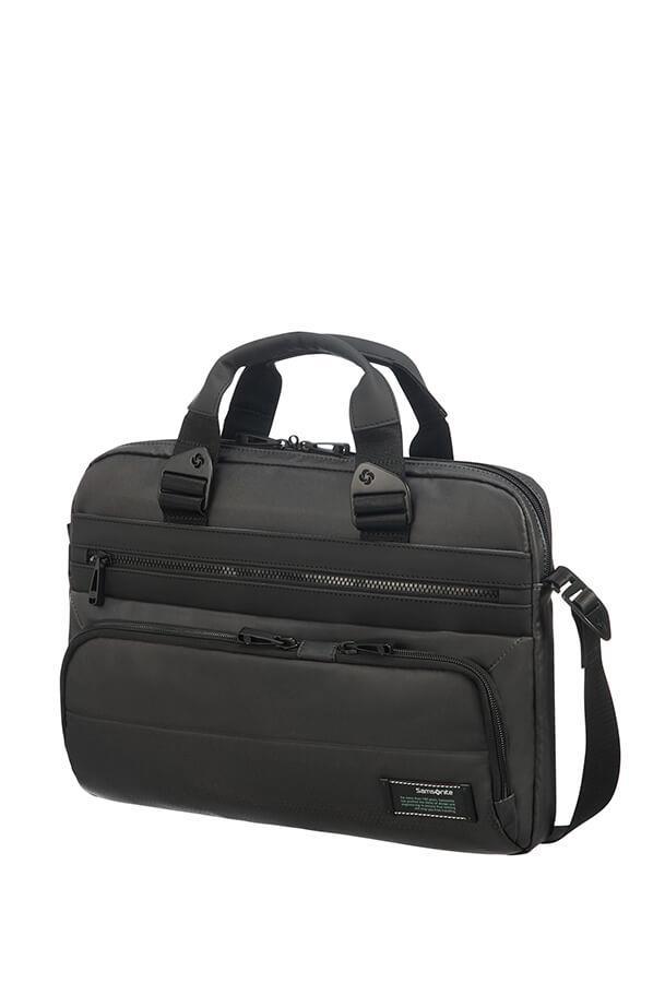 SAMSONITE CM7-09-003 SHUTTLE BAG SAMSONITE CM709003 15,6CITYVIBE 2.0 comp,pock,tblt,doc, Jet Black