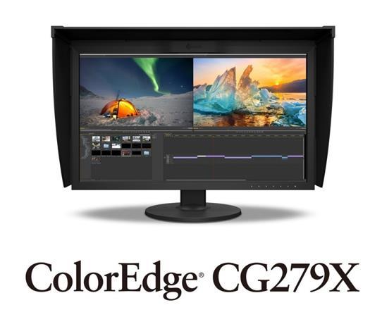 "EIZO CG279X 27"" Wide IPS/2560 x 1440/1300:1/350 cd/m2/13ms/ USB-C/ DP/DVI/HDMI/černý"