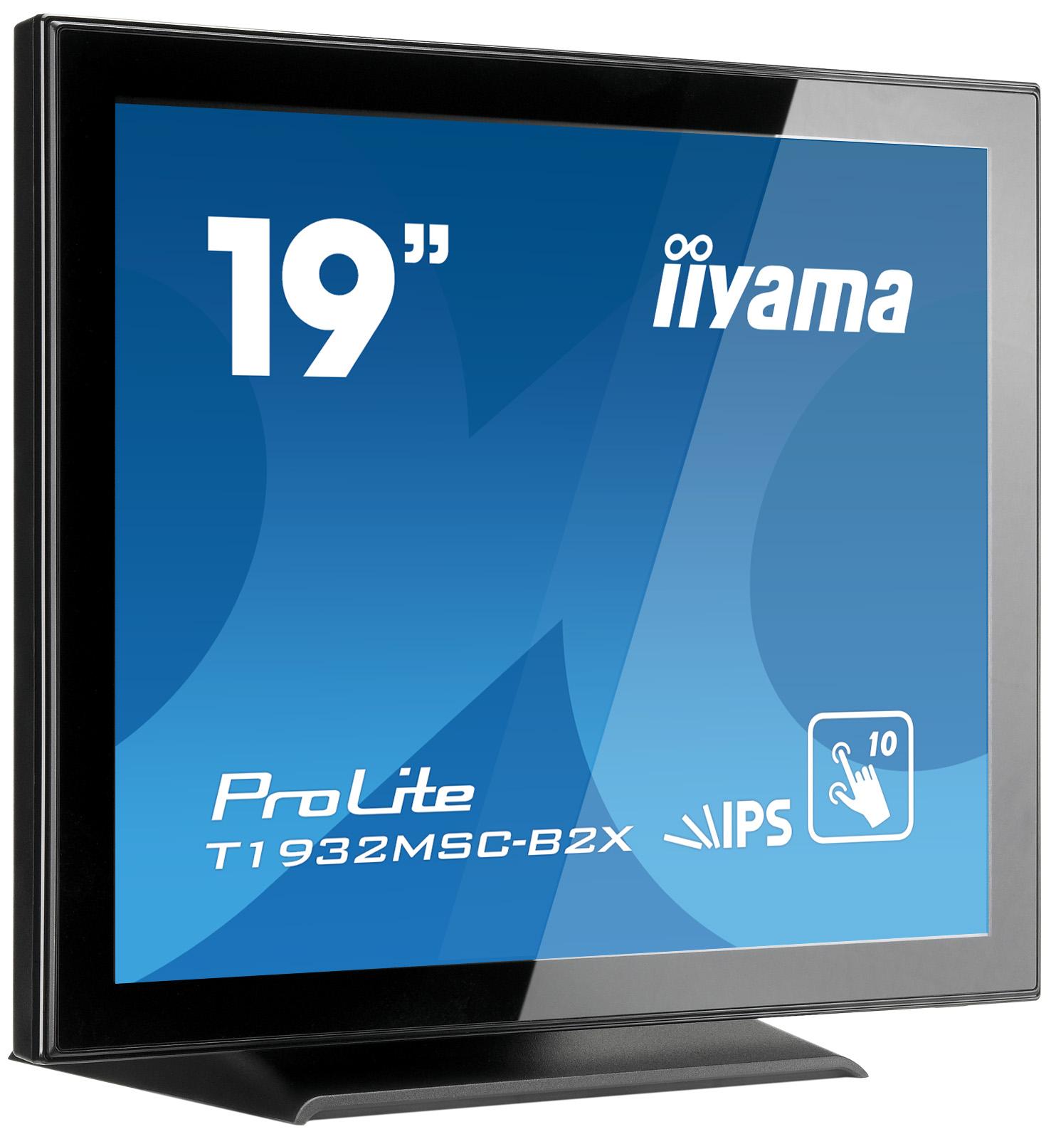 Monitor IIyama T1932MSC-B2X 19inch, IPS touchscreen, SXGA, VGA, DVI-D, USB