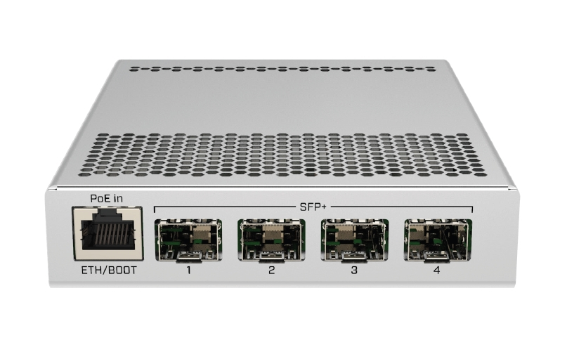 MikroTik Cloud Router Switch CRS305-1G-4S+IN, Dual Boot (SwitchOS, RouterOS)