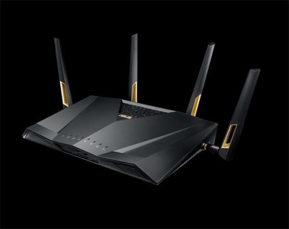 ASUS RT-AX88U Wireless AX6000 Gigabit Router, 8x gigabit RJ45, 2x USB3.1