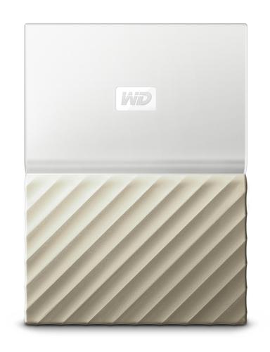 """Ext. HDD 2,5"""" WD My Passport Ultra 1TB bílo-zlatá"""