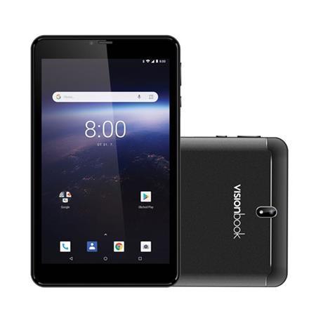 UMAX VisionBook 7Qa 3G/7´´ 1024x600 IPS/1,3GHz QC/1GB/8GB/2x SIM/GPS/WL/BT/SD slot/A8.1 Oreo
