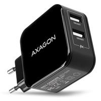 AXAGON ACU-5V4, dual SMART nabíječka do sítě, 2x port 5V-2.6A + 2.6A, 26W