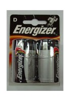 ENERGIZER alkalická baterie Energizer LR20 Velký monočlánek D BL2