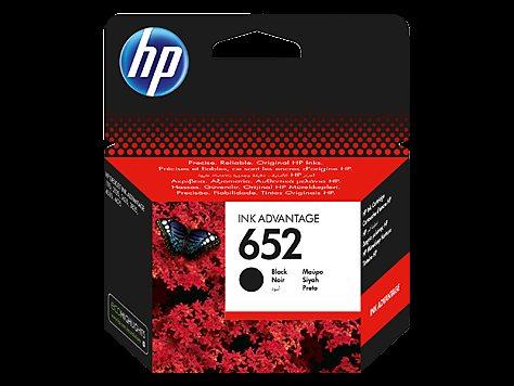 HP F6V25AE Ink Cart No.652 pro DJ3835, Black