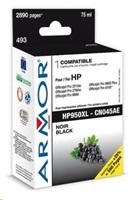ARMOR cartridge pro HP OJ 8100/8600, Black (CN045AE)