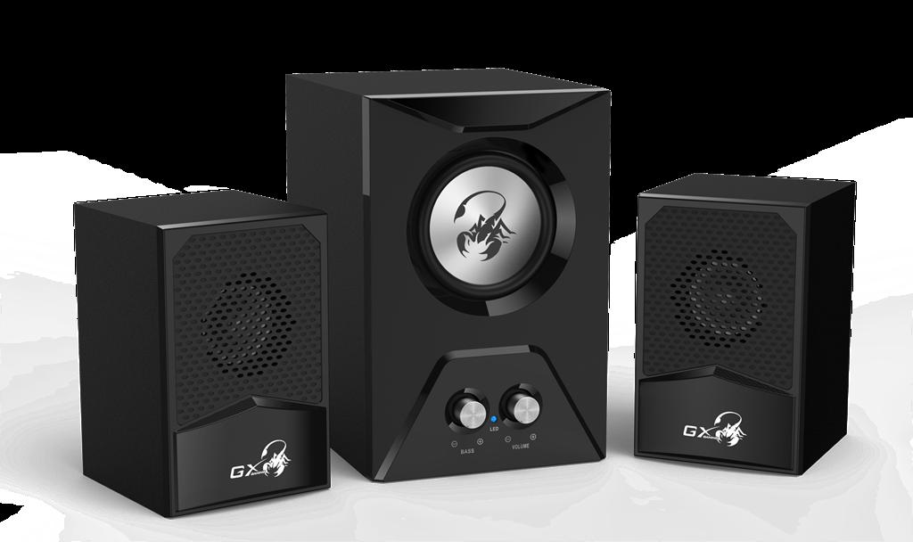 Genius Speakers SW-G2.1 500, Black