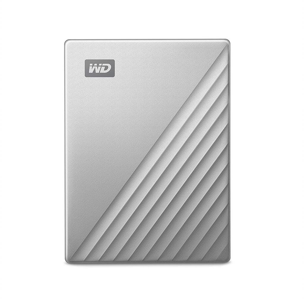 External HDD WD My Passport Ultra for Mac 2.5'' 2TB USB3.1 Silver Worldwide