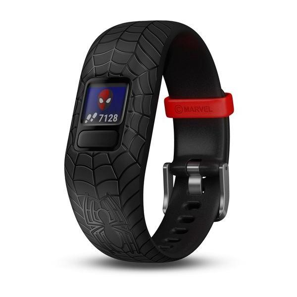 Garmin Vivofit jr. 2 Marvel (Spider-Man, Black)