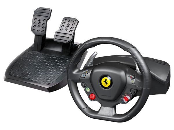 Thrustmaster Sada volantu a pedálů Ferrari 458 Italia pro Xbox 360 a PC