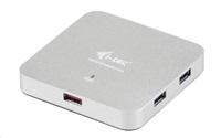 Bazar - iTec USB 3.0 Hub 4+1-Port Metal s napájecím adaptérem, z opravy