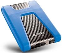 "ADATA Externí HDD 1TB 2,5"" USB 3.1 DashDrive Durable HD650, modrý (gumový, nárazu odolný)"