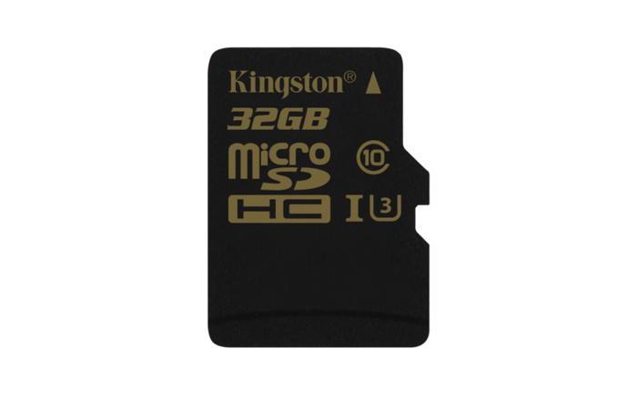 KINGSTON 32GB microSDHC Class U3 UHS-I 90R/45W Single Pack bez adapteru