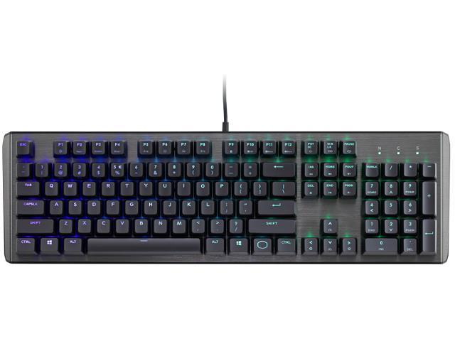 COOLER MASTER mechanická klávesnice CK550 s RGB podsvícením, spínače GATERON BLUE, US layout