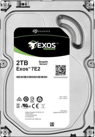 "Seagate Exos 7E2 HDD, 2TB, 3.5"", SATAIII, 128MB cache, 7.200RPM"