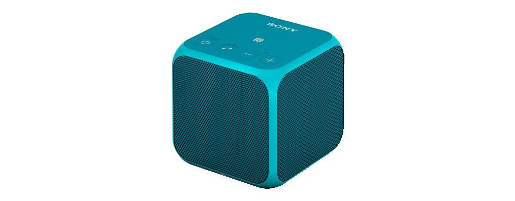 SONY SRS-X11 Přenosný bezdrátový reproduktor s technologií Bluetooth® -Blue