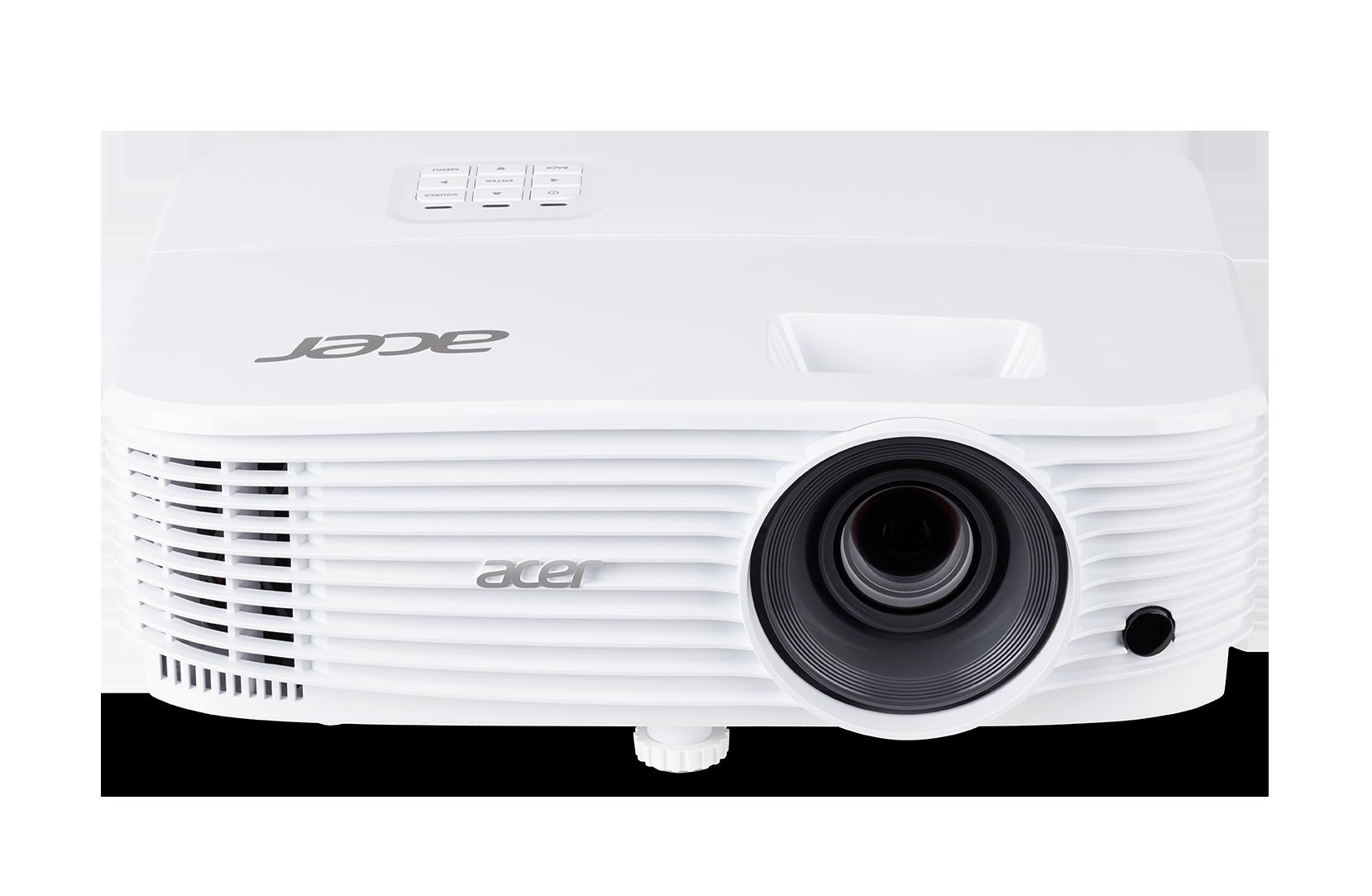 Acer DLP P1250 - 3600Lm, XGA, 20000:1, HDMI, VGA, USB, repro., bílý