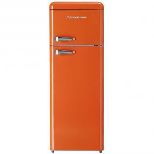 Kombinovaná chladnička Schaub Lorenz SL 210 O lesklá oranžová