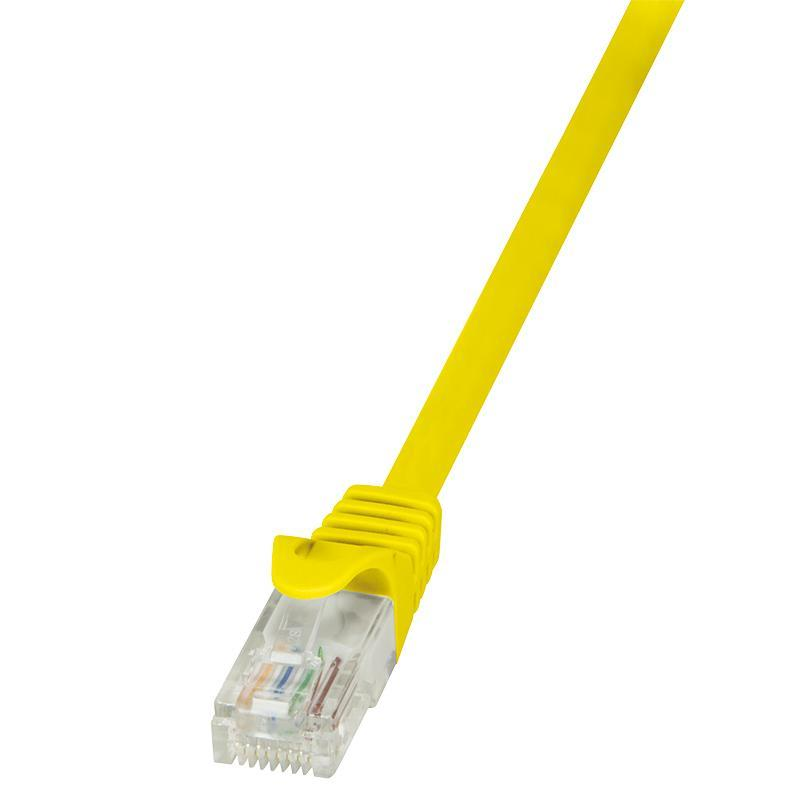LOGILINK - Patch kabel Cat.6 U/UTP EconLine 10m žlutý