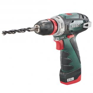 Aku vrtačka Metabo PowerMaxx BS Quick Basic, 2 aku