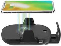 4smarts držák do auta s bezdrátovým dobíjením VoltBeam Sensor 2 Fast Charge, černá