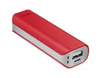 Trust Primo PowerBank 2200 Portable Charger 21223 - red