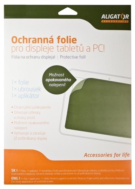 ALIGATOR Tablet (200x270mm) antireflexní, univerzální s mřížkou, 1ks + aplikátor