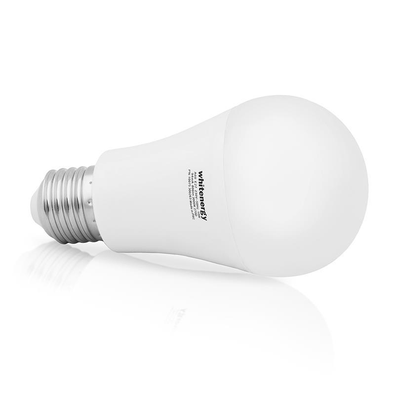 WE LED žárovka SMD2835 A60 E27 10W bílá mléčná