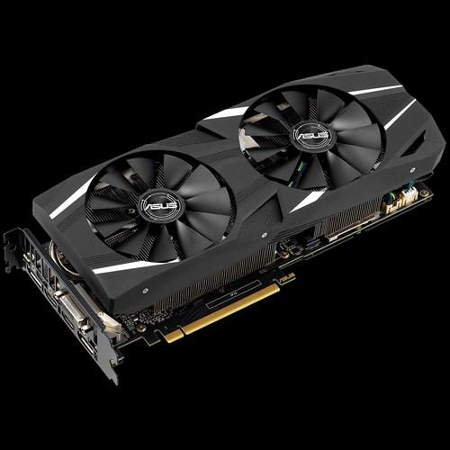 ASUS Dual GeForce RTX 2060 Advanced, 6GB GDDR6, DVI, 2xDP, 2x HDMI